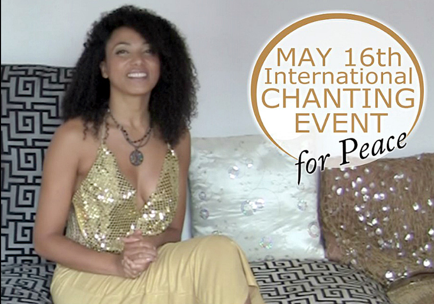 Victoria Vives International Healing and Chanting Session