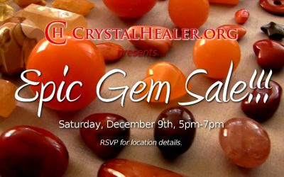 Epic Sale of Crystals, Gemstones, Sound Healing Instruments and more!