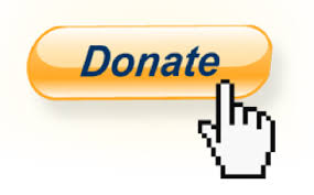 an image of a yellow button named donate a mouse cursor pointing in the button