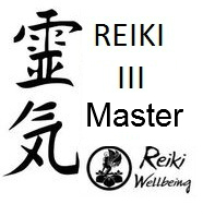 an image with a chinese and english language text written Reiki Level III