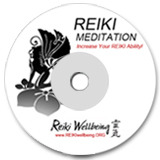 an image of a cd of reiki wellbeing for medidation