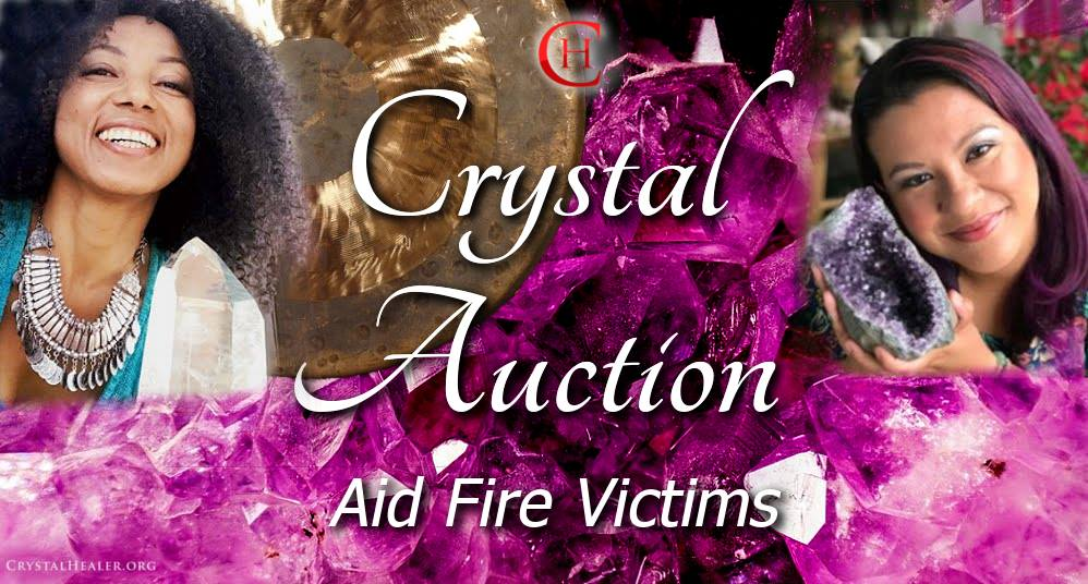 LIVE Crystal & Healing Jewelry Auction ~ Aid for Fire Victims