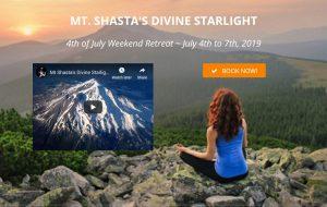 Mt Shasta Divine Starlight