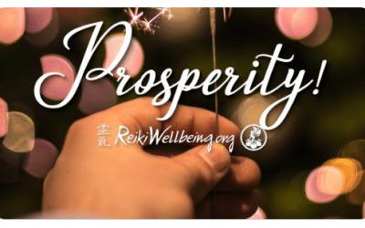 12 Days of Prosperity ~ Day 1